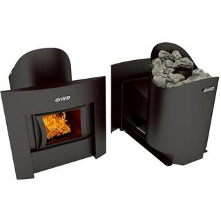Печь для бани GRILL'D Aurora 160 (Window black) (миниатюра)